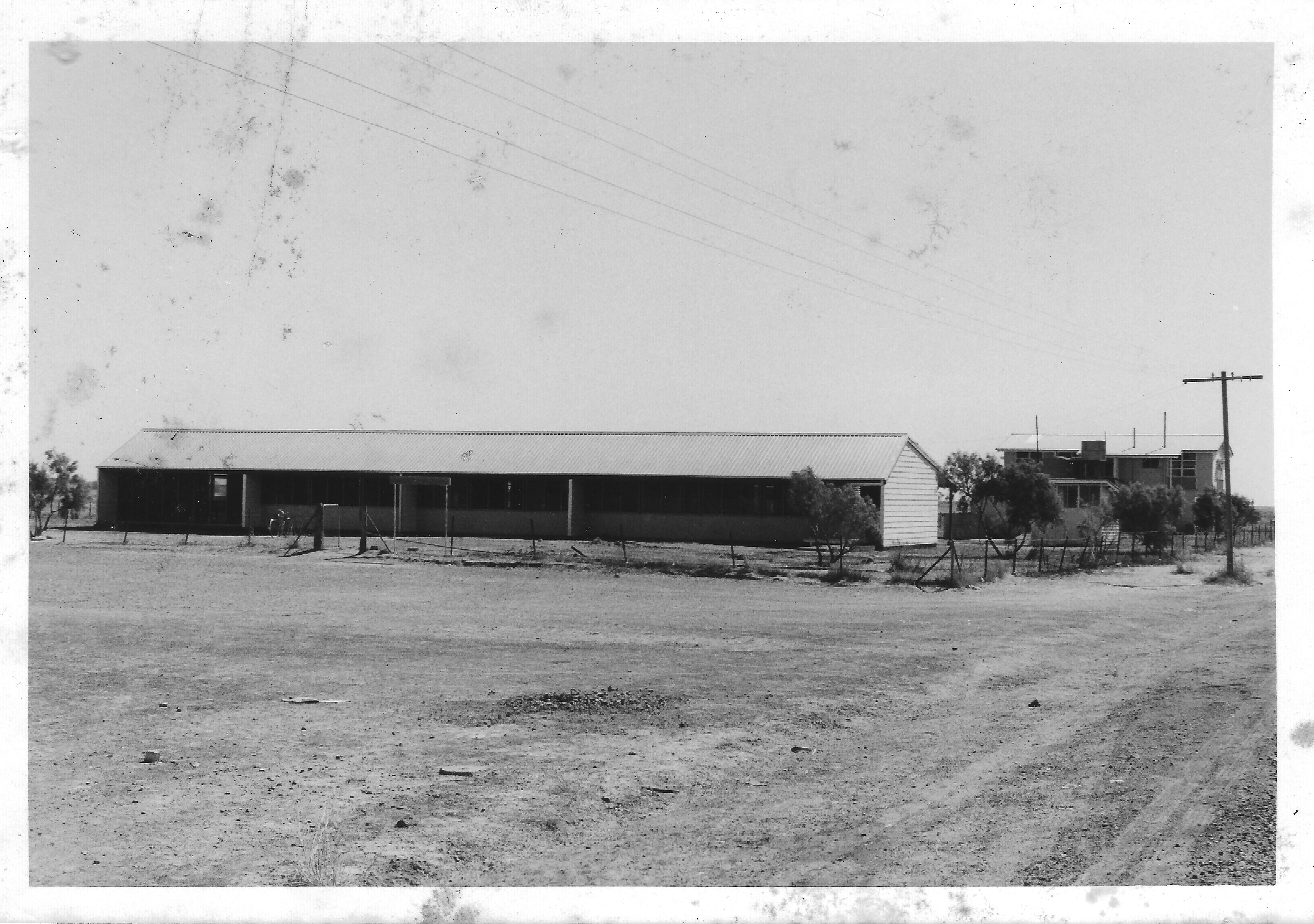 b'town 74 school, principal's house