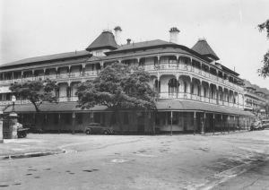 Dad home Bellevue Hotel 1940