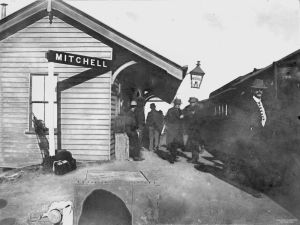 mitchell railway station