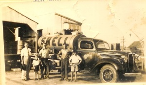 5 - con, jim and colin. innisfail 1940