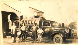 5 - con, jim and colin. innisfail 1940