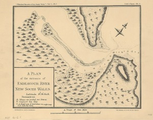 A plan of the entrance of Endeavour River, New South Wales: lati